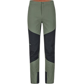 Marmot Pillar Spodnie Mężczyźni czarny/oliwkowy